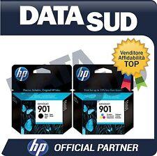 CARTUCCE HP 901BK+901COLOR ORIGINALI  INK-JET PER HP Officejet 4500, 4500 G510.