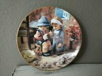 Hummel 1991 Vintage Collector Plate Danbury Mint Tender Loving Care