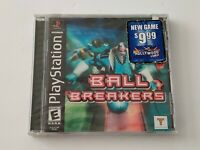 Brand New Factory Sealed Black Label Ball Breakers ( Sony PlayStation 1, 2000 )
