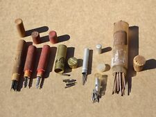 Bits, Broaches, Blades Boring Nice Lot Watchmakers Tool Lot Pivot Wire, Hs Drill