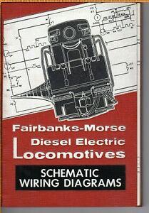1956 Fairbanks Morse H16-44 Diesel Electric Locomotive Schematic Wiring Diagrams