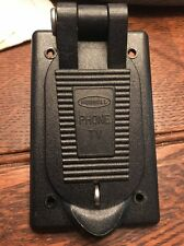 Hubbell PH6597TV Phone & TV Outlet Weatherproof Lift Cover