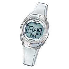 Calypso Kinder Armbanduhr Digital Crush K5738/1 Quarz-Uhr PU weiß UK5738/1