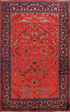 Excellent Floral Sultanabad Traditional Area Rug Hand-Knotted WOOL Carpet 7x9 ft