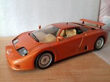 Bugatti 110 EB de 1991 burago 1/18 made in italy maqueta coche