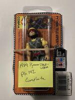1989 Hasbro Vintage GI Joe Figure 💯COMPLETE CARD COBRA PYTHON PATROL TELE-VIPER