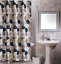Multicolor Geometric Pattern Design Bathroom Fabric Shower Curtain ys807