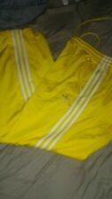Adidas Superstar Men Track Pant.large Or Xl..available.yellow with white stripe