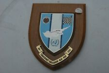 UN TRANSPORT SQUADRON MAY-NOV 1985  ( CYPRUS )   plaque, shield ,  VINTAGE