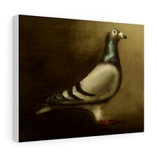 More details for pigeon : canvas print / poster : from a painting by david andrews : bird art