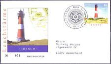 BRD 2007: Leuchtturm Hörnum! FDC der Nr. 2613! Berliner Stempel! Gelaufen! 20-03