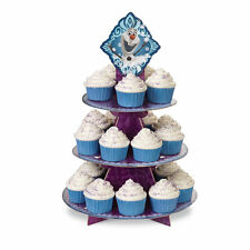 Wilton Disney FROZEN Cupcake Treat Stand 3-Tier; Elsa Birthday Party Theme!