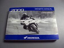 09 Honda CBR 600 RR Owners Manual #083