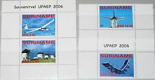 SURINAM 2006 2061-62 Block 101 1340-1342 Energy Conservation Flugzeuge Planes **