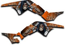 HONDA TRX250R GRAPHICS DECAL KIT GRIM REAPER REVENGE TRX 250 R STICKER ORANGE
