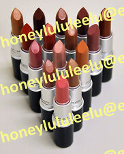 MAC LUSTRE Lipstick Choose From 30Color Full SZ New Box Unseal Polished Up Plink