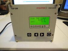 PFEIFFER TCP 350 PROFIBUS TURBO PUMP CONTROLLER PM C01 740