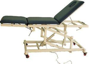 HI-LO EXAM TREATMENT TABLE MOTORIZED TREATMENT TABLE Chiropractic