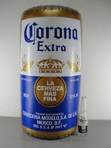CORONA EXTRA 👑 HANGING INFLATABLE BEER CAN ADVERTISING 🔥 BAR MANCAVE DECOR NEW