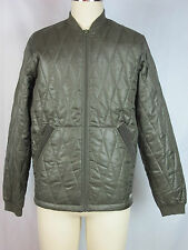 Diesel Jacket Green quilted japalm jacket, 55DSL Line, Green, size L