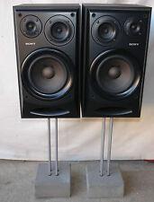 Élégants sony ssex50 3 voies BASSREFLEX haut-parleur Boxe à pieds