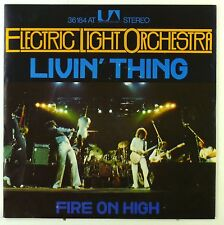 """7"""" Single - Electric Light Orchestra - Livin' Thing / Fire on High - S2231"""