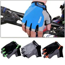 1Pair Skidproof Shockproof Sport Cycling Bike Bicycle Half Finger Gloves Mittens