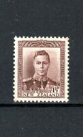 New Zealand 1938 1 1/2d purple-brown MH