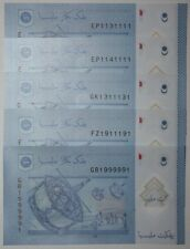 (PL) NEW: RM 1 GB 1999991 UNC 1 PIECE ONLY FANCY RADAR & ALMOST SOLID NUMBER 1