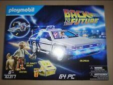Dolorean retour vers le futur Playmobil NEUF