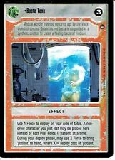 STAR WARS CCG HOTH BLACK BORDER LIGHT SIDE RARE BACTA TANK
