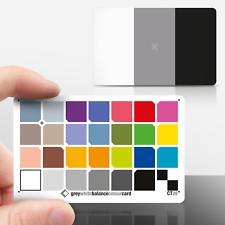 La nueva tarjeta de color CT 28: 3x2 tarjeta de crédito-PVC Impermeable-para trabajo de primer plano