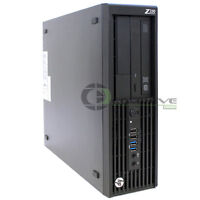 HP Z230 SFF Workstation D1P35AV Intel Xeon E3-1245v3 3.40 GHz 8GB 500GB HDD Win7