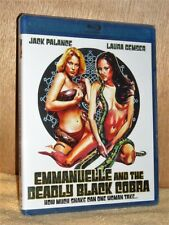 Emmanuelle & The Deadly Black Cobra (Blu-ray 2018) NEW Laura Gemser Jack Palance