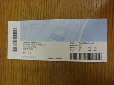 25/01/2014 Ticket: Manchester City v Watford [FA Cup] . Thanks for viewing this