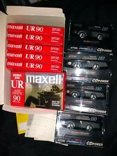 Lot 10 Maxell UD 90 Type 1 Normal & TDK CDPower High Bias 110 NEW OTHER