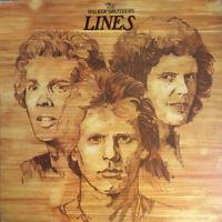 THE WALKER BROTHERS ~ Lines ~ Original 1976 UK 10-track vinyl LP ~ MINT VINYL LP