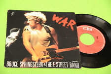 "BRUCE SPRINGSTEEN 7"" WAR ORIGINALE OLANDA 1986 EX+"