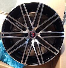 22'' inch Wheels Curva C48 Concave Style Rims Black fits BMW 550 645 650 745 750