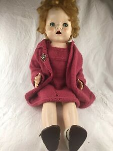 VINTAGE PEDIGREE WALKING DOLL - 22 INCH- NICE CONDITION BUT MAMA BOX NOT WORKING