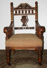 Oak Edwardian Antique Chairs