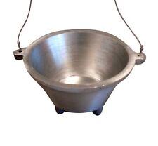 Aluminium Hanging Cauldron Incense Burner Holder Censer for Cones & Charcoal