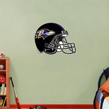 "Baltimore Ravens NFL Football Wall Decor Sticker Decal 25"" x 19"""
