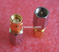 1X Adapter FME plug male to SMA male RF connector straight