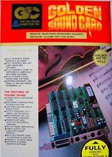 TOPTEK Golden Sound Card ISA 8 Bit SoundKarte PC MS-DOS Soundblaster RARITÄT NEU