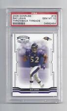 Ray Lewis 2005 Donruss #13 PSA 10 Gem Mint