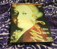MOZART MUSICAL BIOGRAPHY COMPETE EDITION INTERACTIVE MEDIA PHILIPS CDI