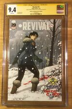 Revival #1, Third Eye Cover, CGC 9.4 2X SS, Tim Seeley & Mike Norton, graded NM