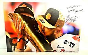 Ben Boulware signed autographed stretched canvas 20x30 Clemson Champions