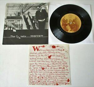 "The Cravats - Precinct UK 1980 Small Wonder Records 7"" Single P/S with Insert"